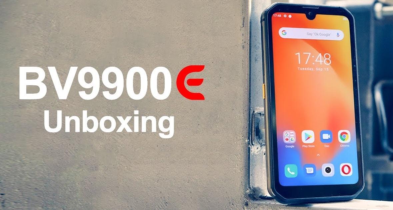 Blackview BV9900E Rugged smartphone