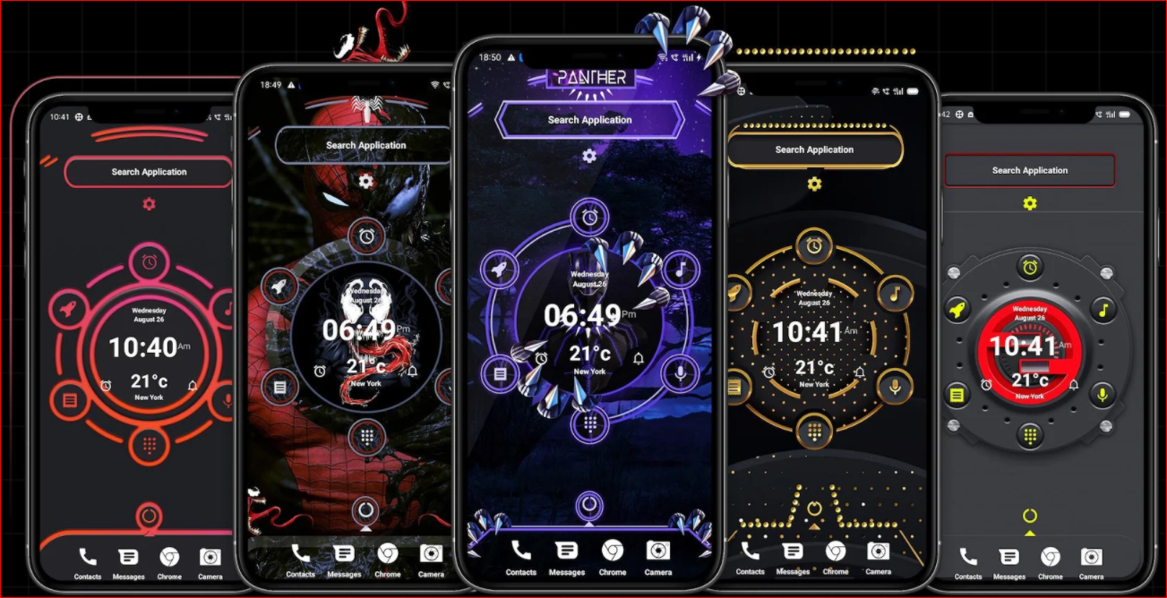 Alpha Hybrid Launcher for Android phones