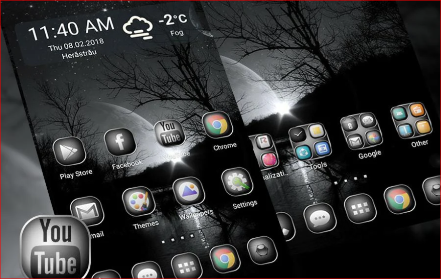 Black and white theme for android the best android theme you can download