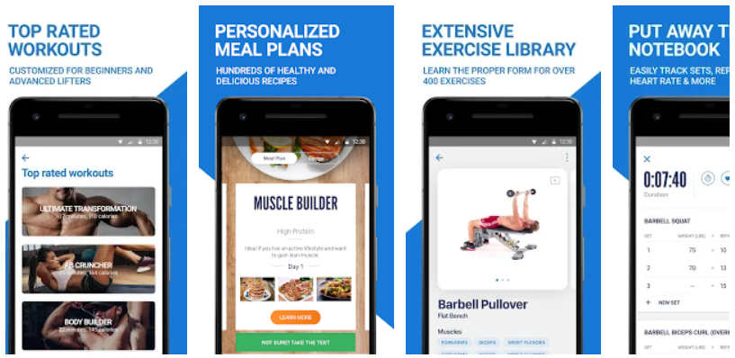 Download Fitness Buddy - Gym Workout, Weight Lifting Tracker