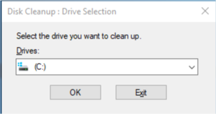 Disk Cleanup Utility Windows 10