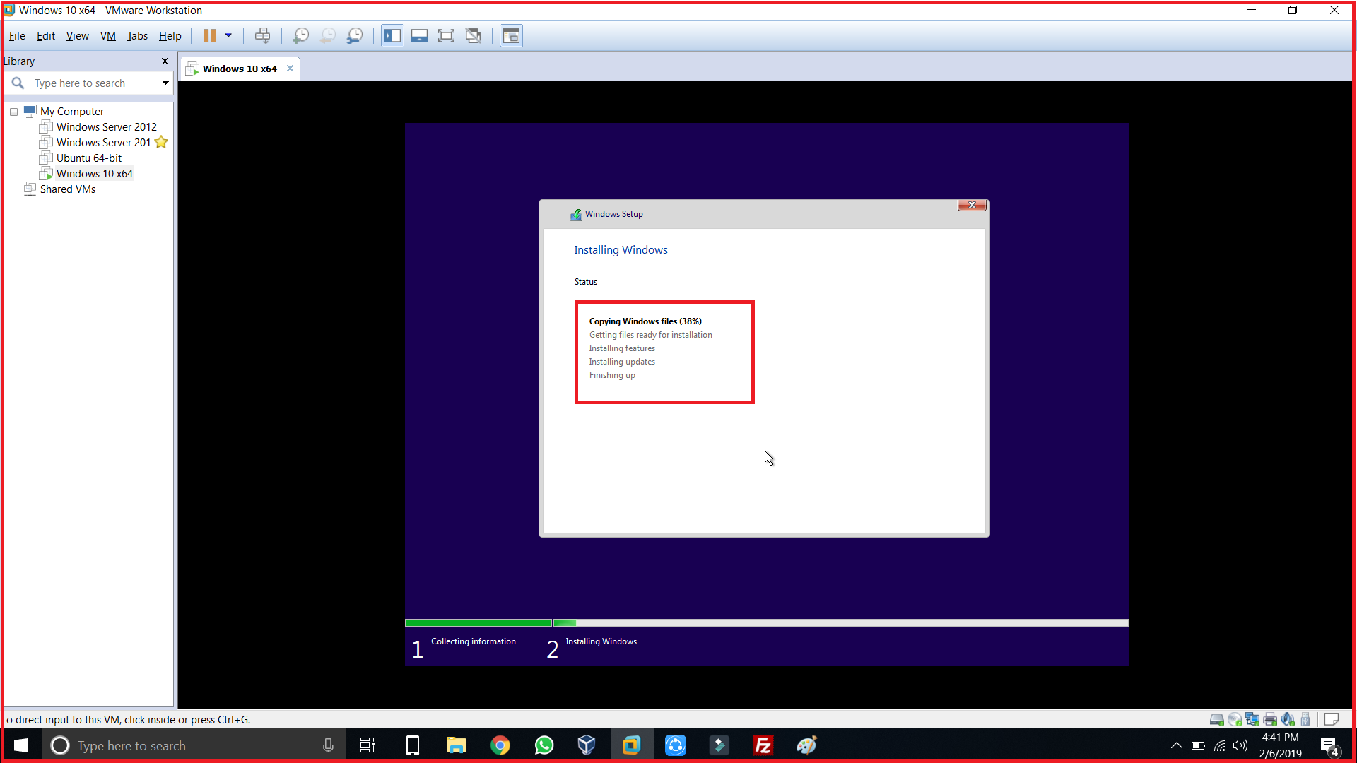 copying windows files