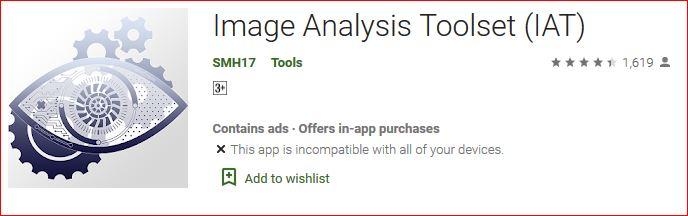image analysis toolset (IAT)