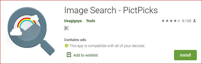 pictpics image search an alternative for google lens