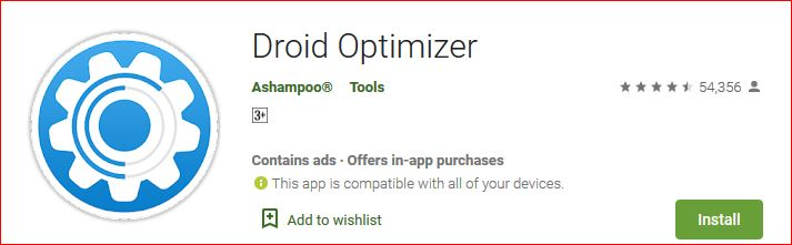 Download Droid Optimizer for Android