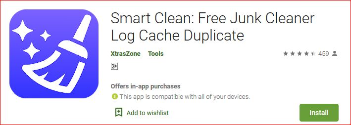 smart clean a free junk cleaner log cache duplicate files cleaner for android
