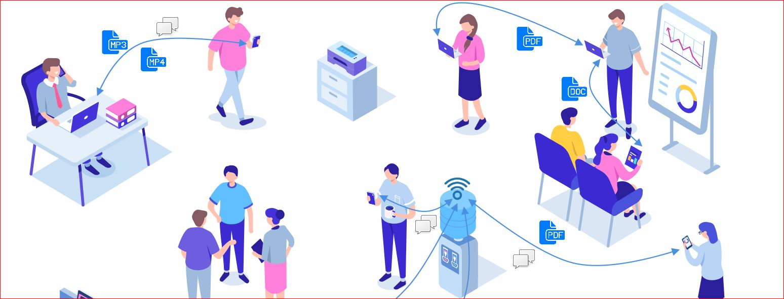 Feem v4 share files online is cross platform file sharing application software available for Android, iOS, Windows, Mac, and Linux. This app will transfer files using Wi-Fi this 200X faster than Bluetooth.