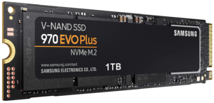 Samsung (MZ-V7S1T0B) 970 EVO Plus SSD 1TB - M.2 NVMe Interface Internal Solid State Drive with V-NAND
