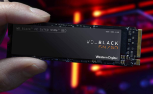 Western Digital 500GB WD_Black SN750 NVMe Internal Gaming SSD