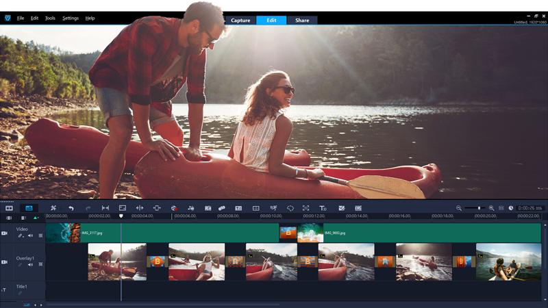 Coral Video Studio Video Editing Software