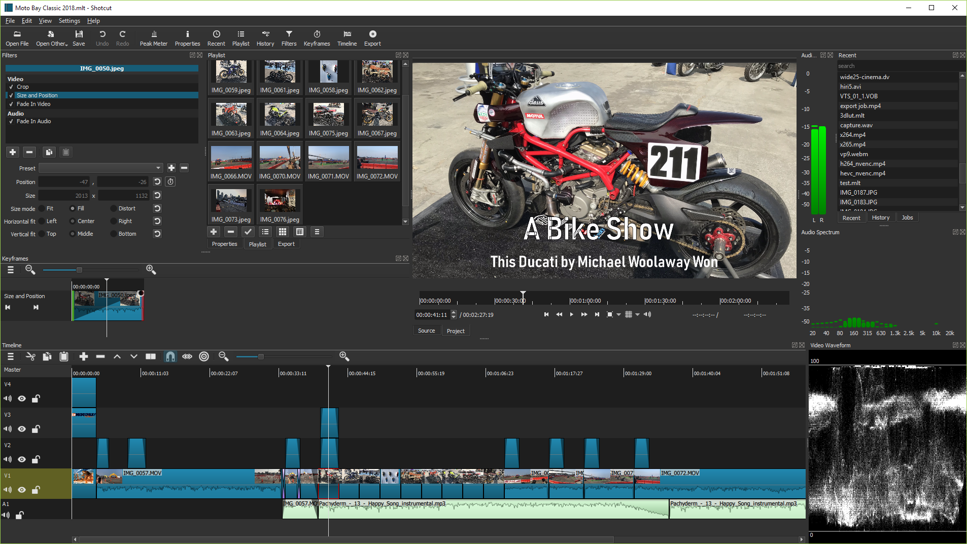 ShotCut a video editor for Linux windows and mac