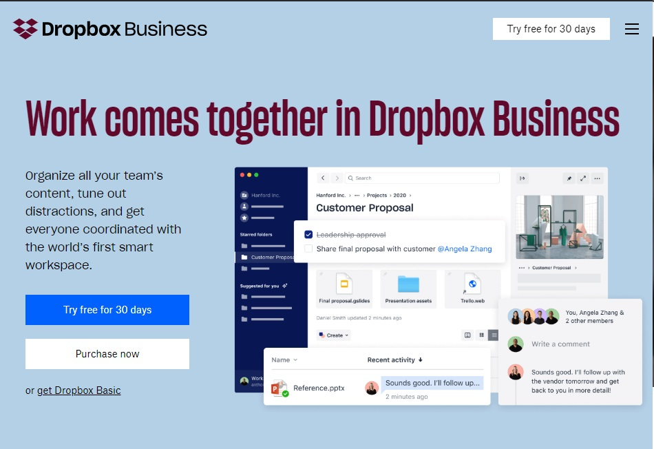 10 best remote working tools to improve productivity Dropbox Work From Home