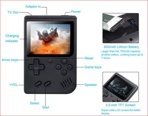 weikin Handheld Game Console