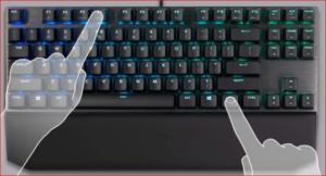 Cooler Master MK730 Tenkeyless Gaming Mechanical Keyboard