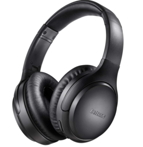 Boltune BT-BH010 Bluetooth Deep Bass Wireless Over-Ear Headphones With Mic and Volume Control