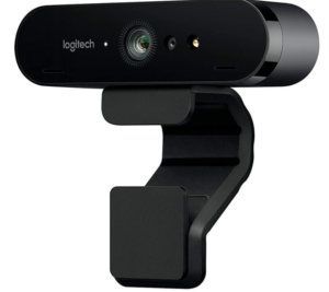 Logitech BRIO Ultra HD Webcam for Video Conferencing, Recording, and Streaming