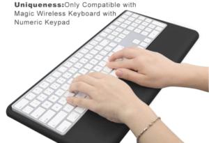 Magic Keyboard Wrist Rest Ergonomic Keyboard Stand Compatible with Wireless Magic Keyboard